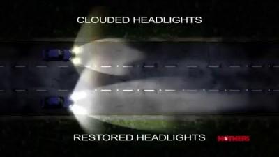 Mothers Polish - PowerBall 4Lights Headlight Restoration Kit TV Commercial
