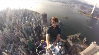 На маковке небоскреба Гонконг