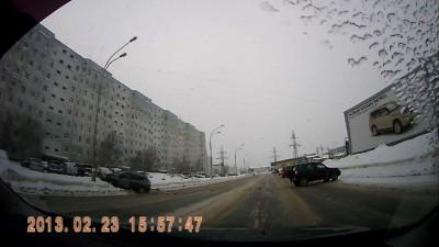 ДТП Нижневартовск 23 февраля