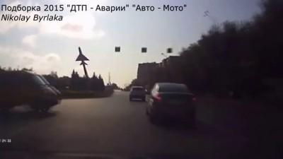 "Подборка 2015 ""ДТП - Аварии"" ""Авто - Мото"" #6"