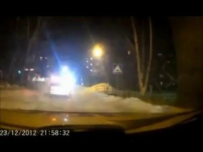 Погоня за пьяным таксистом
