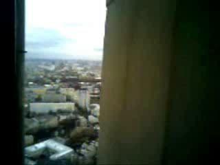 Вид со шпиля высотки на Таганке
