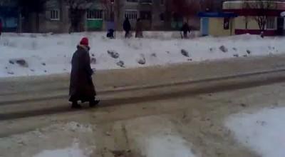 Камикадзе. Зачем тротуар?
