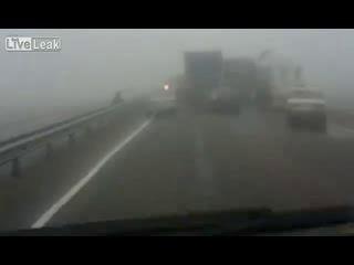 Сюрприз на туманной дороге