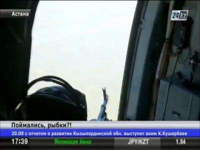 Казахстанские пограничники задержали на Каспии банду браконьеров