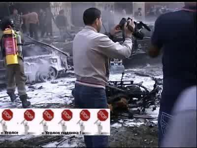 Взрыв у посольства Ирана в Бейруте ...