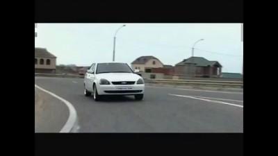 ВАЗ Лада Приора Черные фары / Black Reflector Lada Priora
