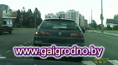 Наезд на девочку 06 06 2014 в Гродно