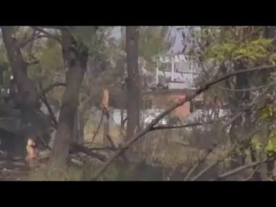Война на Юго-Востоке Украины.Чёрный обелиск Город в огне