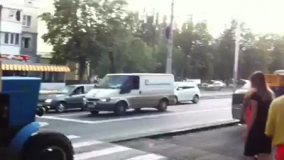 Мордовские дорожники нападают. Липецк
