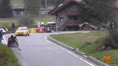 Jolly Rally Valle d'Aosta 2014 - Big crash