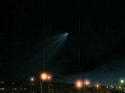 Комета над Москвой