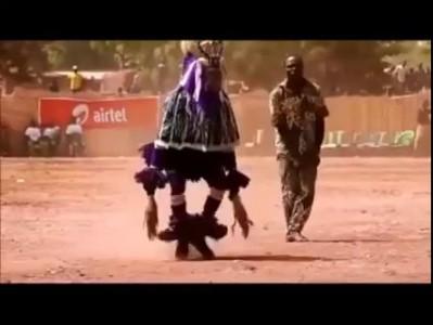 Танцы негров
