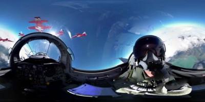360° cockpit view | Fighter Jet | Patrouille Suisse