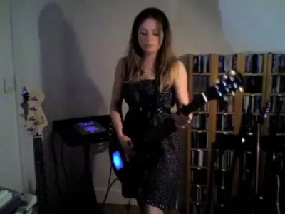 Voodoo Chile Jimi Hendrix cover- by Juliette Valdurez- Amazing! SICK!