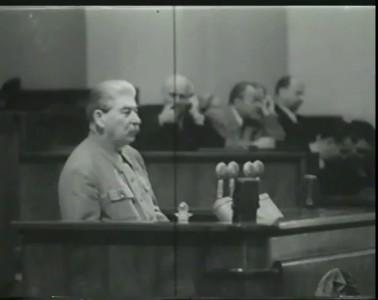 Речь И. Сталина (1952 г.)