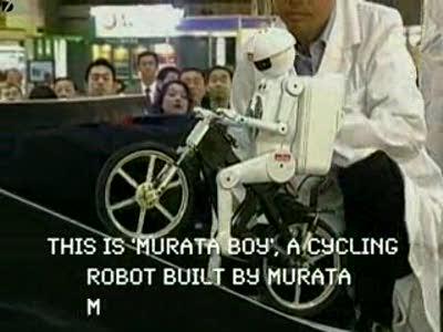 "робот  ""Murata Boy ""."