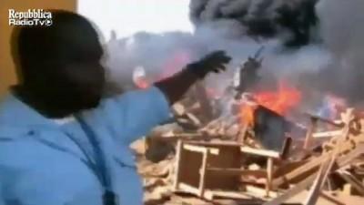 Падение АН-12 Trans Air Congo