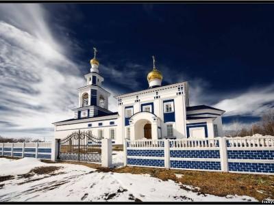 протодьякон Нижегородской епархии отец Андрей - казачья притча (ой то не вечер)