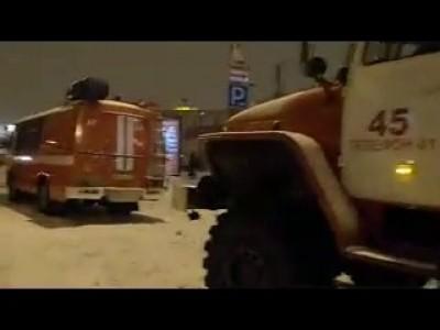 Обрушение крыши в Окее на Выборгском шоссе