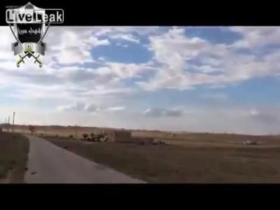 1. Сирия.Повстанцы сбивают вертолет режима