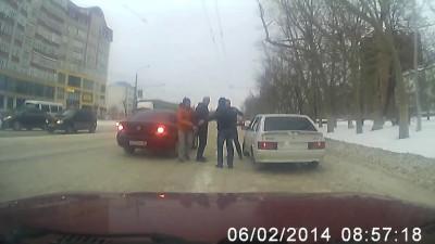 Пешеход vs Водитель