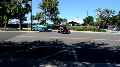 Реактивный мотоцикл