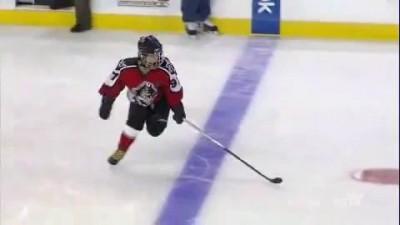 Чудо-буллит 9-летнего хоккеиста
