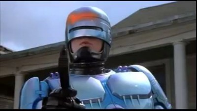 Robocop Thanks You For Not Smoking