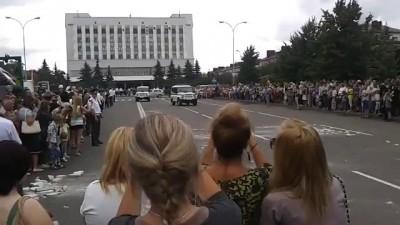 В Бобруйске омоновская «Газель» врезалась в зрителей