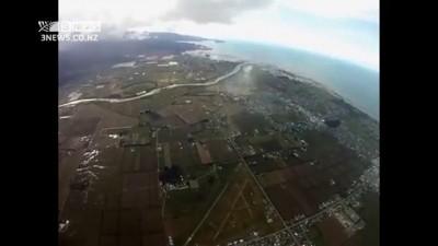 Неудачный прыжок - парашют не раскрылся