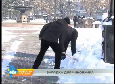 Последствия снегопада для чиновников Иркутска…