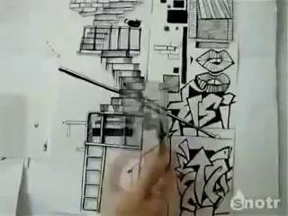 Рисованый паркур
