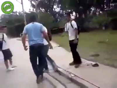 Bully Gets What He Deserves