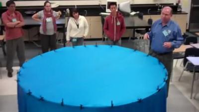 Гравитация наглядно