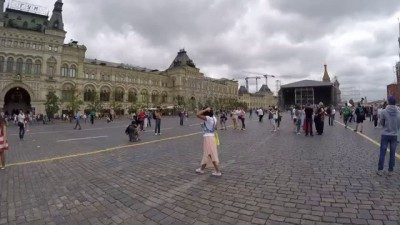 Флешмоб на Красной площади. Гимн России. 31.05.15