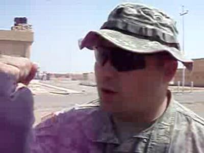 Тяжёлый быт американских солдат в Ираке