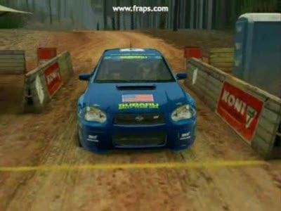 Клипец об игре Colin Mcrae Rally 2005