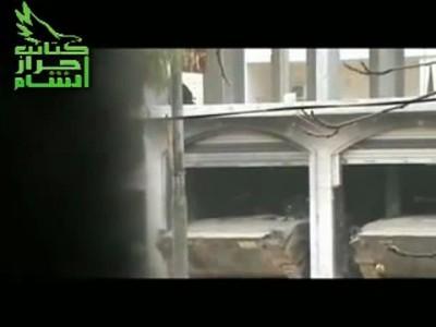 Уличный бой Сирийских ополченцев