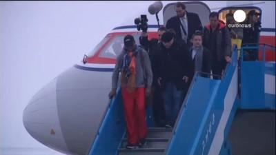 Деннис Родман вновь прибыл в КНДР, к другу