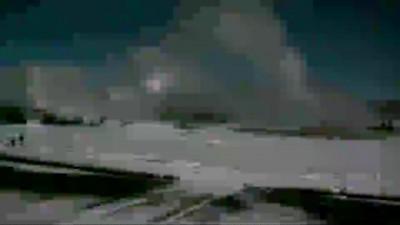 Йеллоустоун. Появился гейзер за горой 27.12.2015