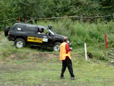 Джип триал 2010 2й этап красноярск