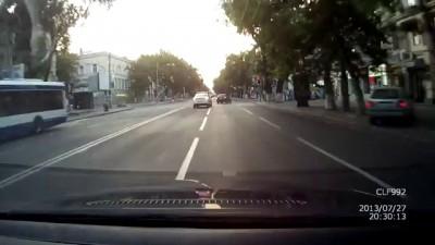 Молдавская полицейская погоня