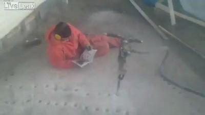 Ленивый рабочий