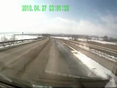 ВАЗ-2114 вылетел в лоб