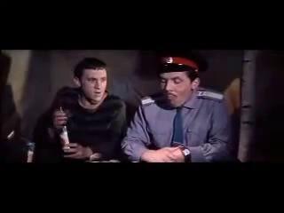 Высоцкий и Золотухин, песня из к/ф Хозяин тайги (1968)
