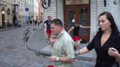 Жонглирование ногами