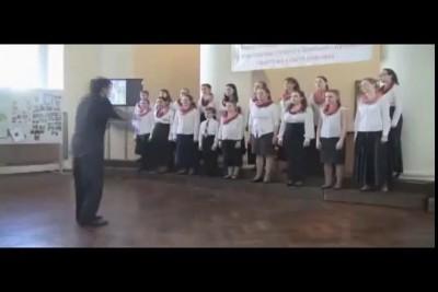 Днесь весна благоухает - хор ШДП хр.св.Татианы