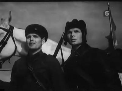 """""""Чапаев с нами"""" (1941)"""