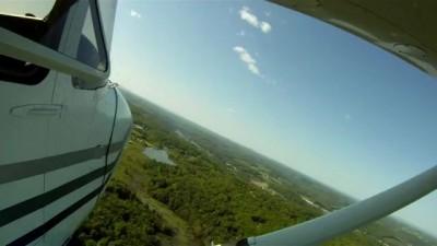 Cessna 172 Skyhawk / Крутой заход на Цессна-172